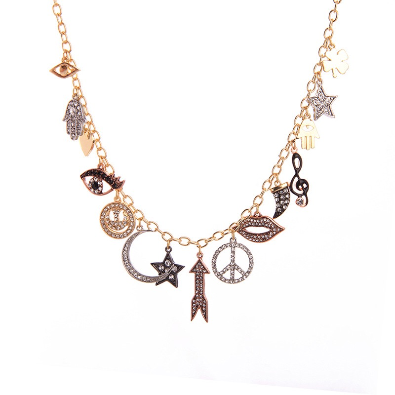 Fashion Charms Necklace