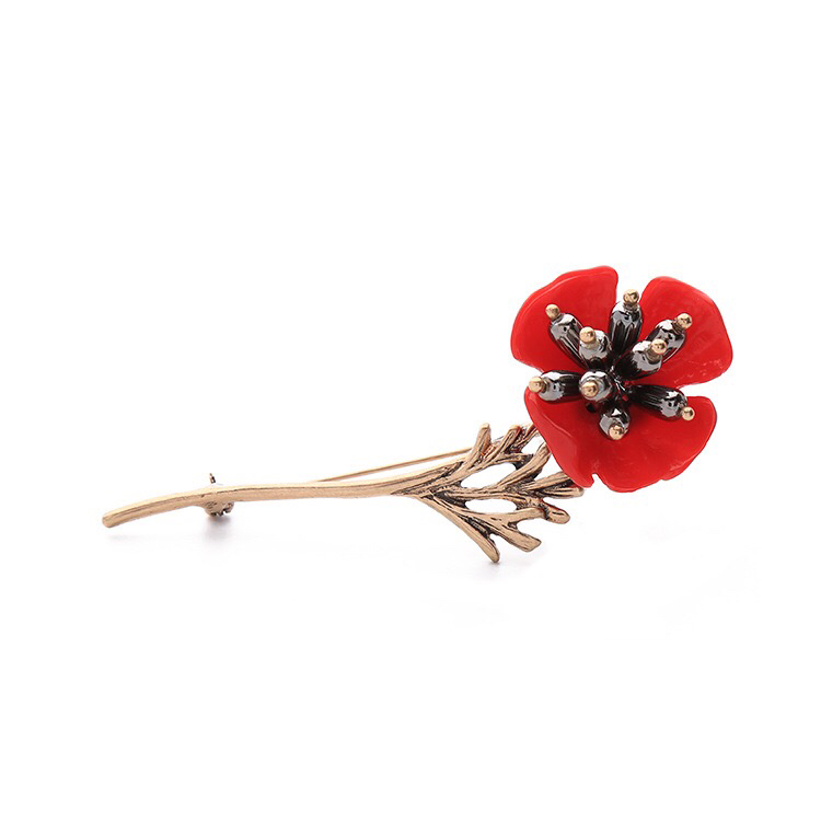 Colorful flower Brooch