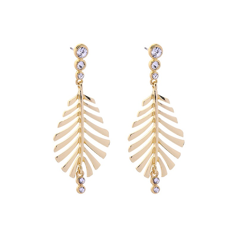 Leaves design fashion earring