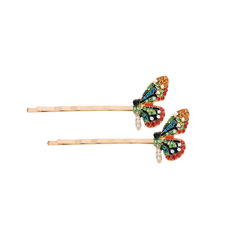 Color stone hairpin