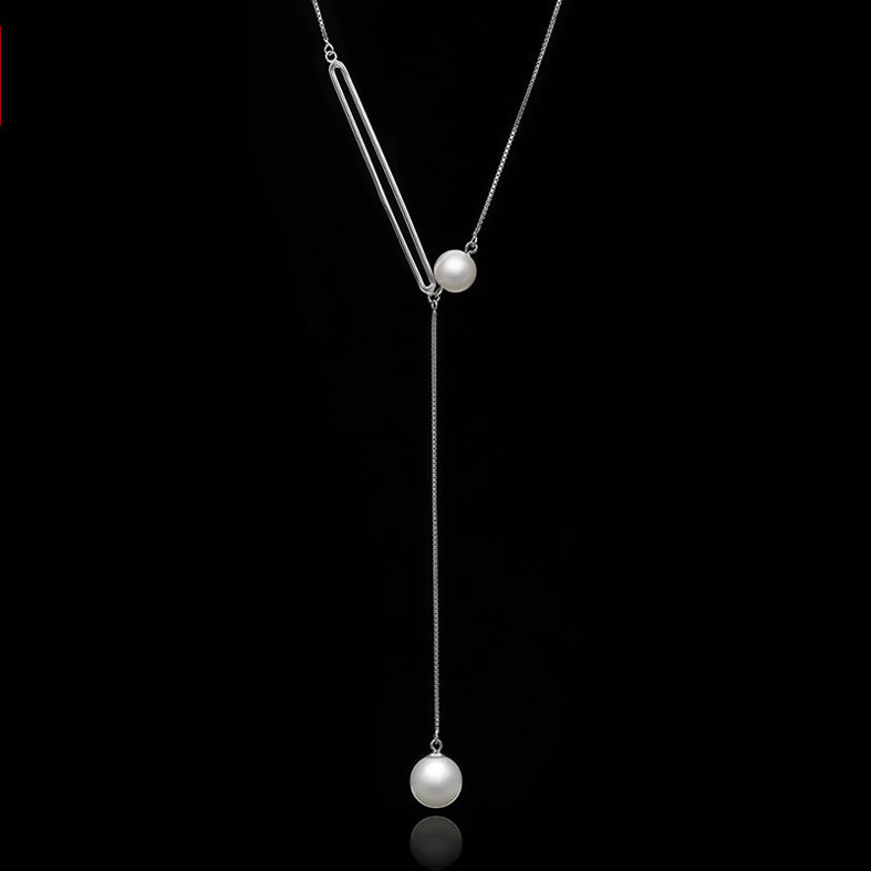 Simple design quality pearl pendant