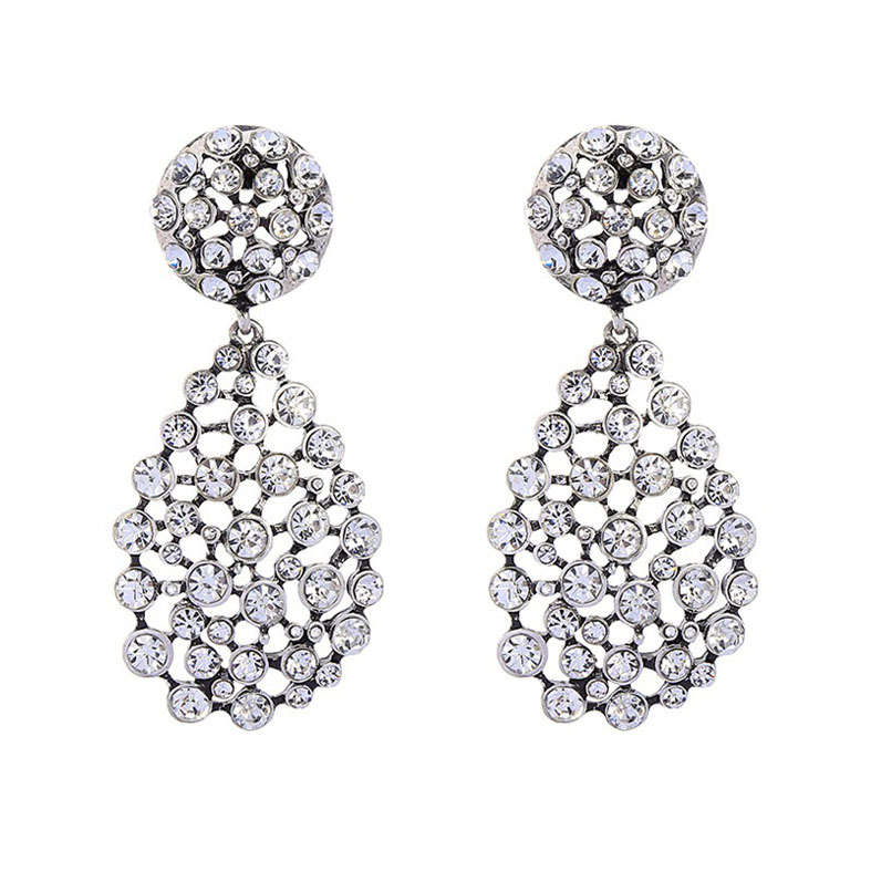 Fashion antique stone earring
