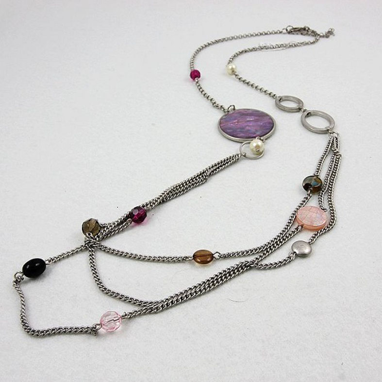 Fashion long chain necklace