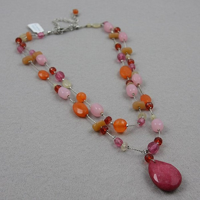 Fashion glass beads Necklace